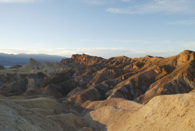 The chocolate carmel swirls of Zabriskie Point