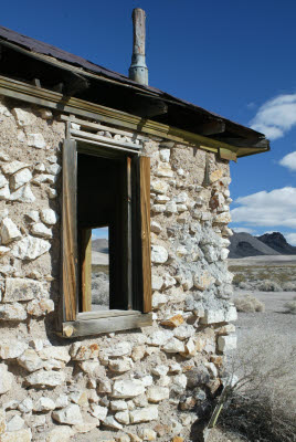 Abandoned house in Rhyolite, NV