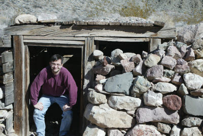 Old Time Miners were shorter - Leadfield (Ghost Town), CA