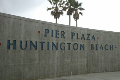 Anteater at Huntington Beach Pier Plaza