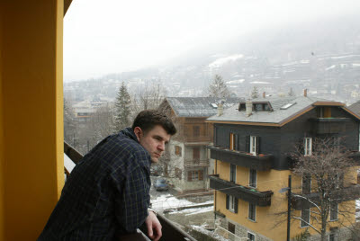 Joe in Bormio