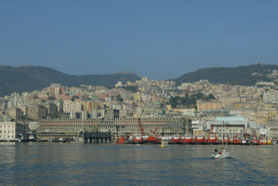 Sea View of Genoa