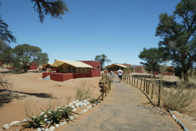 Bungalows of Sossusvlei Lodge
