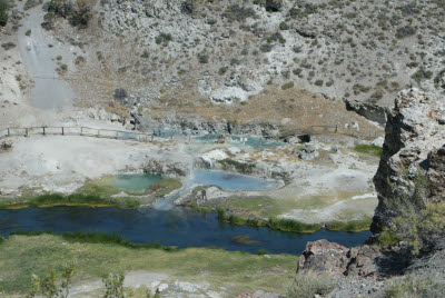 Hot Creek Springs