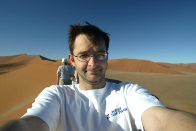 Self Portrait on Dune 45