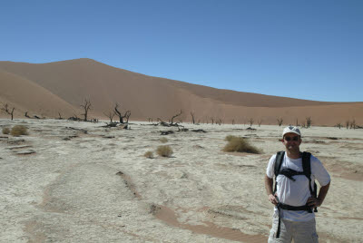 Mark at Deadvlei