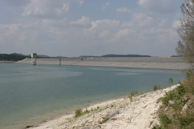 Canyon Lake Dam, Hill Country, Texas