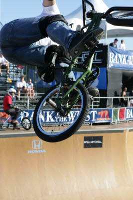 BMX at Bank of the West Games, Huntington Beach, CA