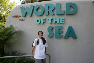 Sue at Seaworld