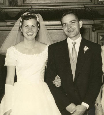 Judy and Bills Wedding Photo