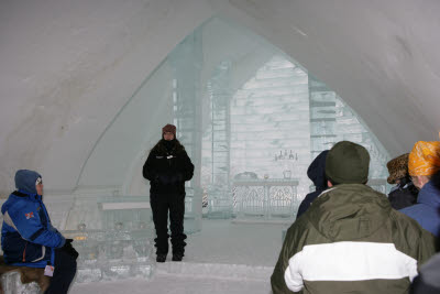 Chapel at the Ice Hotel