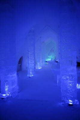Absolute Bar at the Ice Hotel