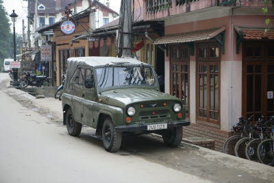 Jeep in Sapa