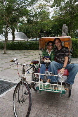 Cyclo in Singapore