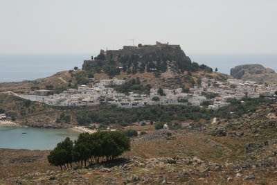 City of Lindos, Island of Rhodes, Greece