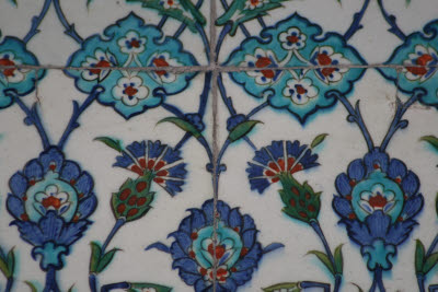 Iznik Tiles at the Blue (Sultan Ahmet) Mosque