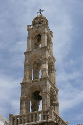 Belfry of the Othodox Church, Lindos