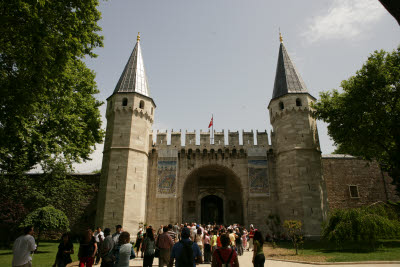 Gate of Salutations, Topkapi Palace, Istanbul, Turkey