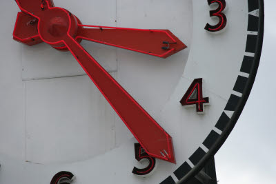 Clock at Pikes Market