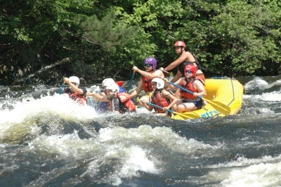Whitewater Rafting on the Kennebec River, Maine