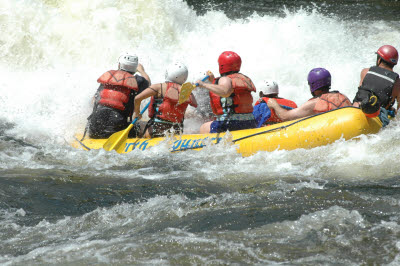 Maytag, Whitewater Rafting on the Kennebec River, Maine