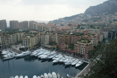 Typical Residence and Water Transportation in Monaco