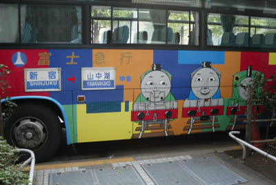 Thomas the train bus