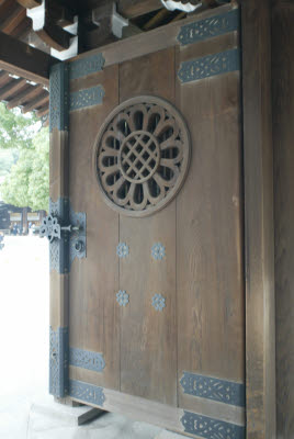 Door at the Temple