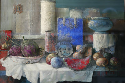 Painting of Table Still Life