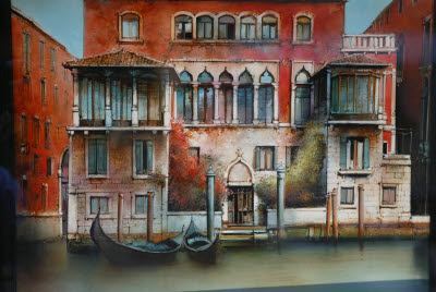 Painting of Venetian Villa