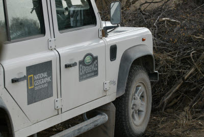 Transportaion for German Land Rover Experience Group