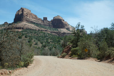 Dirt Road in Sedona