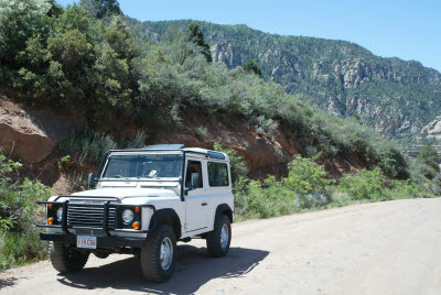 Defender in Sedona